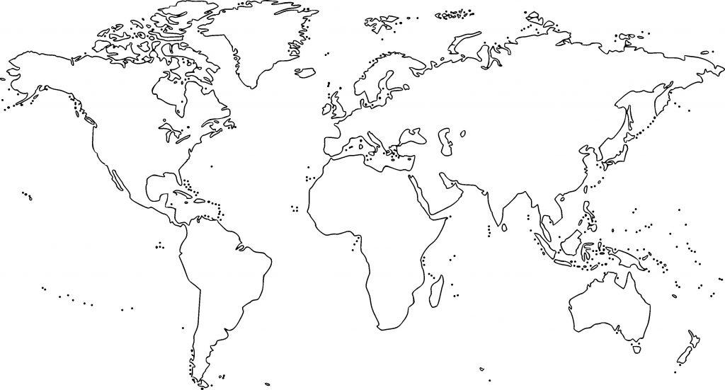 mapa mundi mudo blanco